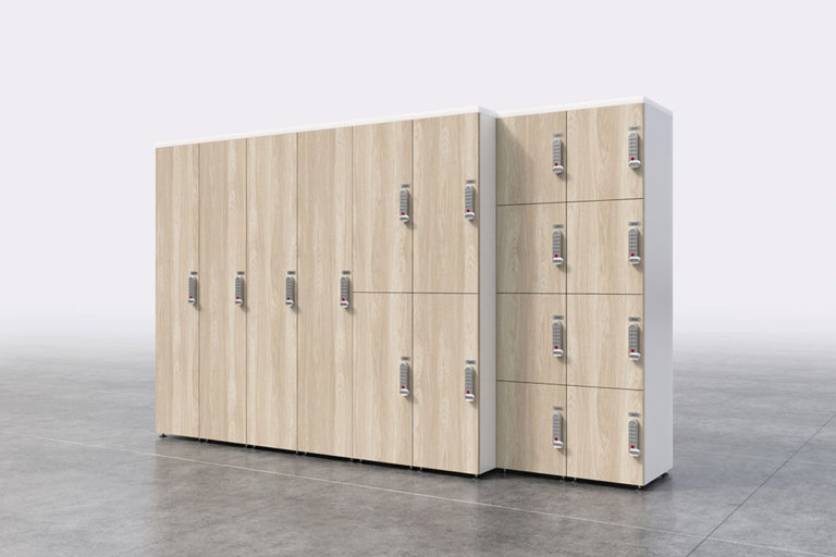 Casiers, lockers et vestiaires
