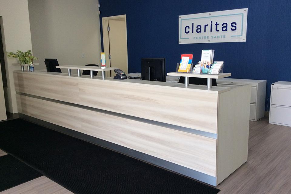 Claritas reception